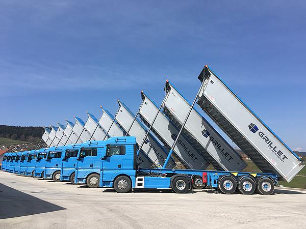 Etalans Grillet Transport SARL Sel Stockage
